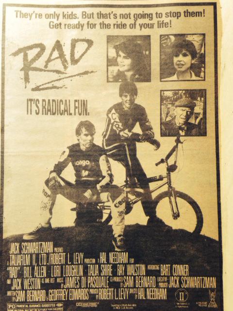 RAD Movie Poster